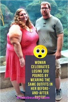Woman Celebrates Losing 300 Pounds By Wearing The Same Outfits In Her BeforeAndAfter Photos Woman Celebrates Losing 300 Pounds By Wearing The Same Outfits In Her BeforeAn. Before And After Weightloss, Weight Loss Before, Weight Loss Goals, Fitness Transformation, 300 Pound Woman, Keto Diet List, Ketogenic Diet, Keto Meal, Celebs