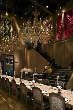 Buddakan; Chelsea - Asian (75 9th Ave, New York, NY 10011 Phone:(212) 989-6699)