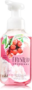 Frosted Cranberry Gentle Foaming Hand Soap - Soap/Sanitizer - Bath & Body Works