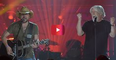 """Jason Aldean joins Bob Seger for a chilling take on """"Turn the Page"""" 