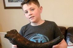 Archie Wood, 12, saw the strange item sticking out of the sand while he was metal detecting with his dad