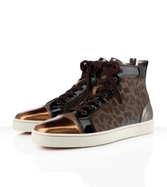 Louis Men's Flat, not a huge fan of animal print but its Christian Louboutin, how can one resist