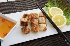 Los rollitos vietnamitas fritos