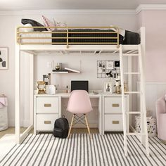 dream rooms for adults ; dream rooms for women ; dream rooms for couples ; dream rooms for adults bedrooms ; dream rooms for girls teenagers Room Design Bedroom, Girl Bedroom Designs, Room Ideas Bedroom, Bedroom Loft, Master Bedroom, Loft Bed Room Ideas, Space Saving Bedroom, Single Bedroom, Ideas For Bedrooms