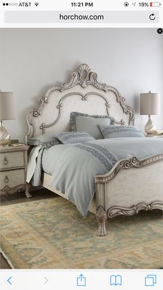 Shop Nicolette Cream Bedroom Furniture at Horchow, where you'll find new lower shipping on hundreds of home furnishings and gifts. Cream Bedroom Furniture, Bedroom Decor, Beautiful Bedrooms, Furniture Makeover, Home Furnishings, Furniture Design, Furniture Nyc, Furniture Dolly, Furniture Movers