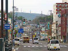 日本, 小樽, 道路, 建物, 住宅, 車, 市, 運動, ジャンクション