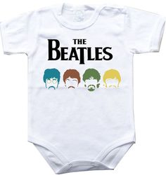 Baby bodysuit THE BEATLES 4 rock hard funk One by 000superbaby000, $10.90