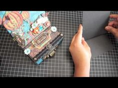 Butterfly Kisses: Steampunk Spells Easel Card Box with Drawer, Tutorial & updates from me! Art Boxes, Box Art, Fun Fold Cards, Folded Cards, Graphic 45, Altered Boxes, Altered Art, Mini Album Tutorial, Butterfly Kisses