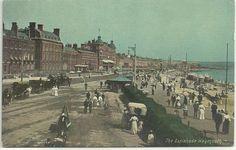 THE ESPLANADE, WEYMOUTH, DORSET (COLOUR PRINTED) PRE 1918 | eBay