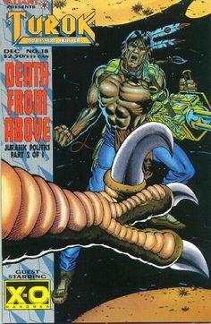 Cover for Turok, Dinosaur Hunter (Acclaim / Valiant, 1993 series) #18