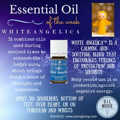 This week's essential oil of the week: White Angelica! For more information head to www.essentiallylovelyliving.com