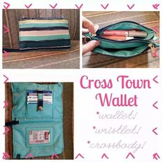 Visit my website to order the new cross town wallet!  mythirtyone.com/organizeyourlife123
