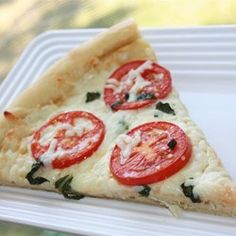 Four Cheese Margherita Pizza - Allrecipes.com Marinated tomatoes in this recipe are great in a salad!