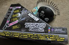 Review from Emma and The Mini Mes of our Torq Chaotic scooter and spikey Helmuttz helmet http://www.theminimesandme.com/2014/11/christmas-gift-giveaway-day-30-final-scooter-advent-daily-win.html