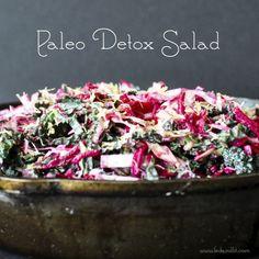 Paleo Detox Salad | Fed and Fit
