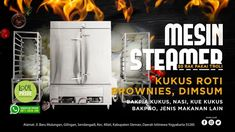 Surabaya, Steamer, French Door Refrigerator, French Doors, Catering, Kitchen Appliances, Diy Kitchen Appliances, Home Appliances, Catering Business