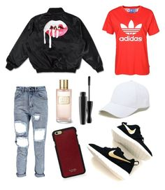 """""""Untitled #12"""" by adeliina-kananen ❤ liked on Polyvore featuring Vianel, Sole Society, NIKE and Estée Lauder"""