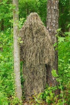 USA Made Ultra Light Mossy Ghillie Suit