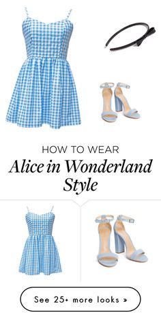 """Alice in wonderland"" by aniyahpayne10 on Polyvore featuring L. Erickson"
