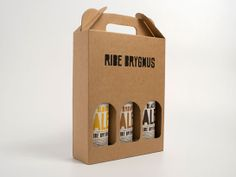 Ribe Brygmus packaging by Mads Jakob Poulsen Kraft Packaging, Honey Packaging, Juice Packaging, Chocolate Packaging, Food Packaging Design, Coffee Packaging, Beverage Packaging, Bottle Packaging, Packaging Design Inspiration