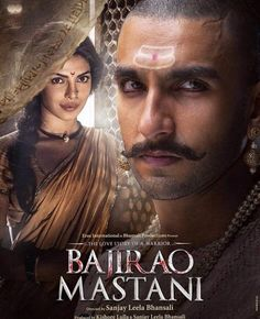 Bajirao Mastani is a film that reminds you what a gifted storyteller Sanjay Leela Bhansali is and why the world needs to pay more attention to this film-maker. Download Free Movies Online, Free Movie Downloads, Free Films, Movies Free, Hindi Movies Online, Romance Film, Bollywood Songs, Bollywood Posters, Bollywood Cinema