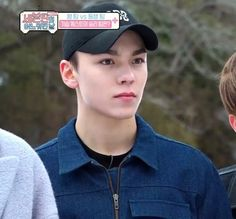 Why does it look like he's going to cry (or has been crying)? #hansol #vernon