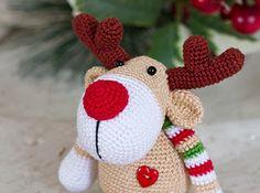 Amigurumi Reindeer Free Pattern : Amigurumi reindeer rudolf free pattern amigurumi free patterns