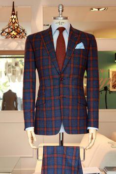 Love this ... =3 #fashion #style #menswear #mensfashion #mtm #madetomeasure #buczynski #buczynskitailoring #ariston #autumnsuit #suit #tailoring #checkedsuit
