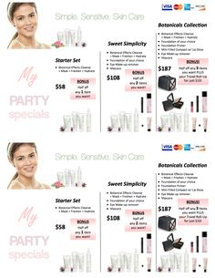 Mary Kay®, Botanicals Collection, Party Ideas