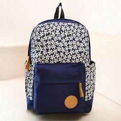 2015 Designer breve Casual Canvas escola mochilas meninas Cute mulheres baratos Mochila fêmea bonito sacos frescos moda em Mochilas de Bagagem & Bags no AliExpress.com | Alibaba Group