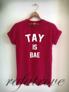 Taylor Swift Is Bae Shirt  Taylor Swift Tshirt 1989 by RafaTrove