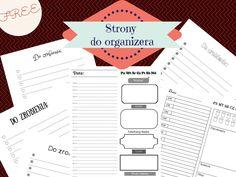 Strony do organizera DIY do wydrukowania, planner, DIY, free, printables