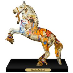 Trail of Painted Ponies Carries the Spirit Horse Figurine
