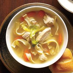 Old-Fashioned Chicken Noodle Soup | CookingLight.com