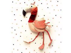 #flamingo #miaszösz #handmadetoys #hungaroandesigner #designertoys  Író Cimborák + Miaszösz 2018 – Háromlábú