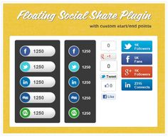 10 jQuery plugins for creating floating elements