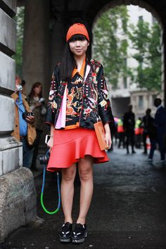 60 Inspiring Street-Style Snaps From LFW #refinery29 #susie bubble
