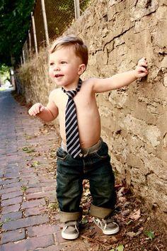 Boy photo session
