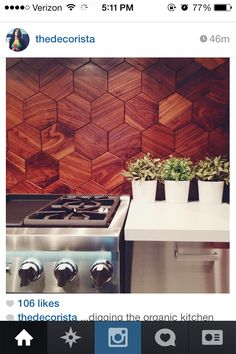Kitchen Backsplash #interiordesign