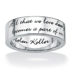 Inspirational rings are unique rings that act as motivational reminders.The message rings with quotes on them,inspirational words rings and love...