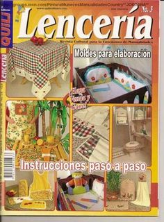 lenceria - Mary.3 - Álbumes web de Picasa Cross Stitch Magazines, Cross Stitch Books, Sewing Magazines, Couture, Pattern Books, Book Crafts, Free Sewing, Crafts To Make, Sewing Crafts