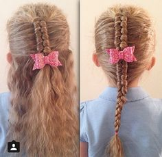 I'm a Christian wife & homeschooling mom of I'm passionate about helping girls feel good about themselves through cute hairstyles! Infinity Braid Hair, All Hairstyles, Christian Wife, To My Daughter, Hair Care, Braids, Bows, Hair Styles, Dutch