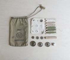 army housewife sewing kit.