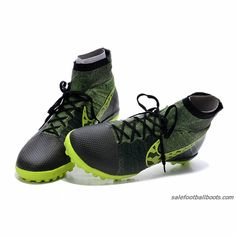 hot sale online 1fb26 56f11 Nike Elastico Superfly TF Gray Green  86.99