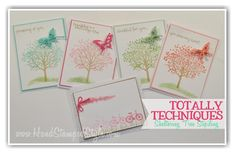 Totally Techniques class march 2015 sheltering tree http://www.handstampedstyle.com