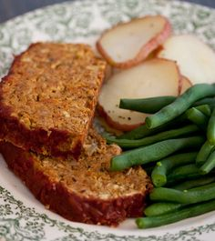 Lentil Loaf W/ Potatoes