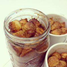 Cinnamon Pull Apart in Jars