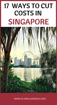 BUDGET TRAVEL TIPS FOR SINGAPORE – 17 Ways To Save Money. Check it out now and plan your trip!
