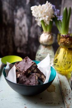Chocolate, Sea Salt and Shortbread Squares