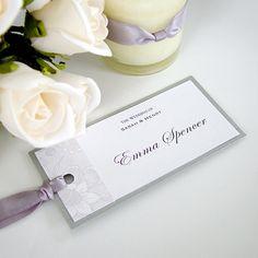 wedding reception items - name tag by Design for Eternity #weddinginvitation #nametag